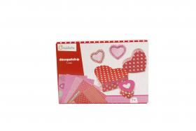 "Decopatch Craft ""Love"" Kit closed"