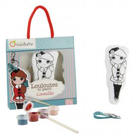 "Key Chain Craft Kits ""Camille"" opened"