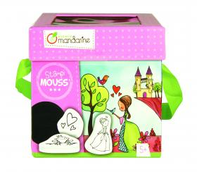 """Stampi Mouss"" Rubber Stamp Kits - Princesses"