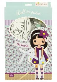 "Cloth Doll Painting Kits ""Victoria"""