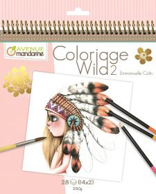 52566 AVM Collector's Coloring Book - Wild 2