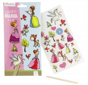 "52580 Avenue Mandarine Decalco Mania (Sticker Transfers) ""Princesses"""
