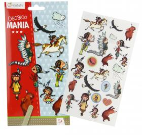 "52581 Avenue Mandarine Decalco Mania (Sticker Transfers) ""Indians"""