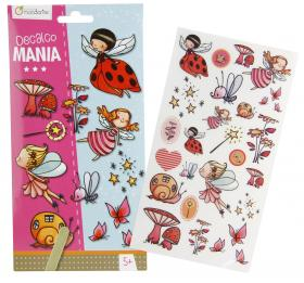 "52582 Avenue Mandarine Decalco Mania (Sticker Transfers) ""Fairies"""