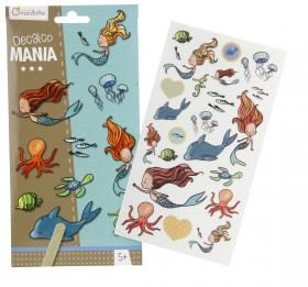 "52584 Avenue Mandarine Decalco Mania (Sticker Transfers) ""Mermaids"""