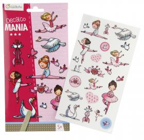 "52585 Avenue Mandarine Decalco Mania (Sticker Transfers) ""Ballerinas"""