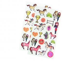 "52586 Avenue Mandarine Decalco Mania (Sticker Tansfers) ""Horse Riding"""