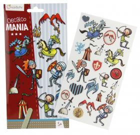 "52587 Avenue Mandarine Decalco Mania (Sticker Transfers) ""Knights"""