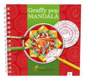 "GY029 Avenue Mandarine Graffy Pop Mandala ""Christmas"""