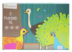 "42701Avenue Mandarine  Extra Large Puzzle ""Birds"" closed"