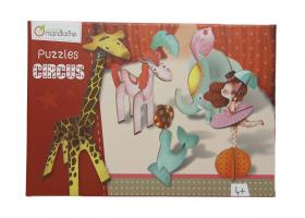 "42767 Avenue Mandarine 3D Puzzles Circus ""Circus Girl"" closed"
