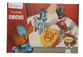 "42768 Avenue Mandarine 3D Puzzles Circus ""Circus Boy"" closed"