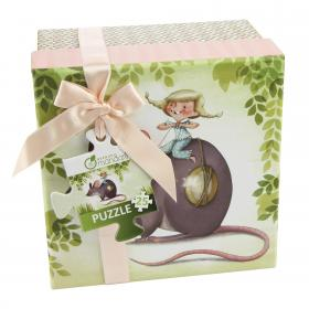 "62420 Avenue Mandarine Avenue Mandarine Puzzles ""Little Mouse"""