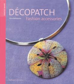 book fashion accessories decor