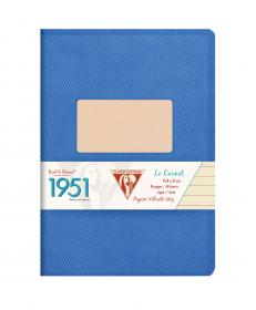 "195936 Clairefontaine Staplebound Notebook ""1951"" - Blue"