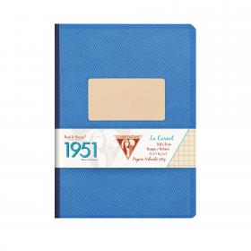 "195946 Clairefontaine Clothbound Notebook ""1951"" - Blue"