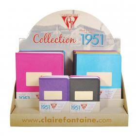 "90092 Clairefontaine Clothbound Notebook ""1951"" - Display"