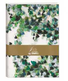 115509 Clairefontaine Hedera Helix Guest Book Hardcover Journal