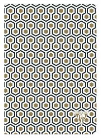 192636 Clairefontaine Neo Deco Notebook - Honeycomb