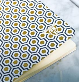192636 Clairefontaine Neo Deco Notebook - Honeycomb amb2