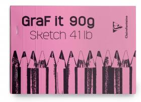 96621 Clairefontaine GraF it Sketch Pad