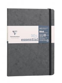 "793425 Clairefontaine ""My Essential"" - Grey/Graph"