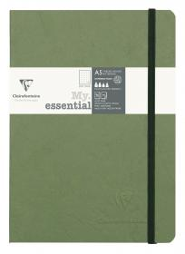 "793433 Clairefontaine ""My Essential"" - Green/Dots"