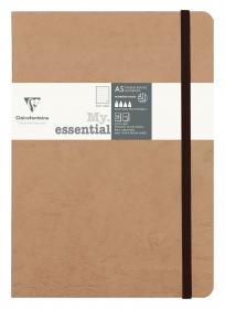 "79343 Clairefontaine ""My Essential"" - Tan/Dots"
