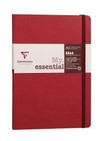 793462 A5 My Essential Ruled - Red