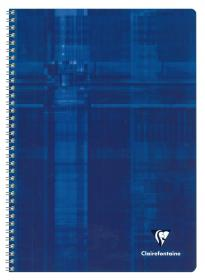68141 - 68142 - 68145 Clairefontaine Classic Wirebound Notebook - Blue