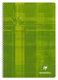 68141 - 68142 - 68145 Clairefontaine Classic Wirebound Notebook - Green