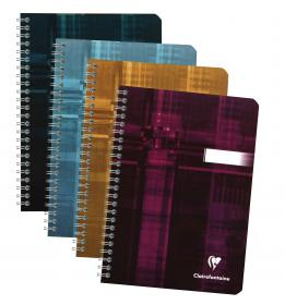 8546 Clairefontaine Classic Wirebound Notebook - Assorted colors