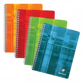 8959 Clairefontaine Classic Wirebound Notebook - Assorted colors