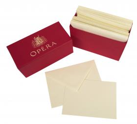 563/68 G. Lalo Opera Rouge - Ivory w/ red cover