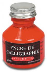 H114/20 Herbin Calligraphy Ink Red