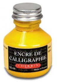 H114/50 Herbin Calligraphy Ink Yellow