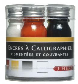 H120/03 Herbin Calligraphy Ink Sample 5 Bottles