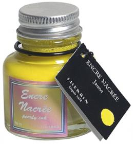 H132/50 Herbin Yellow Pearlescent Ink