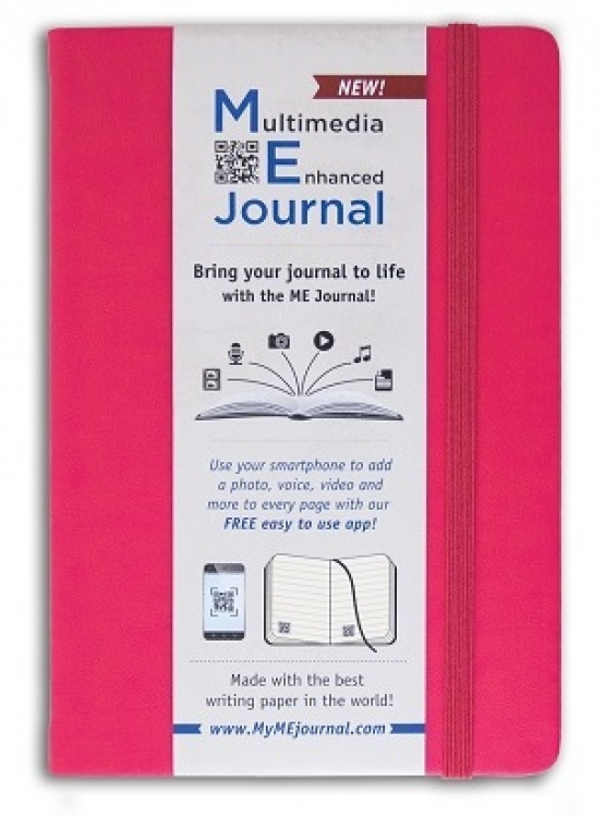 Mini ME Journal Raspberry Pocket