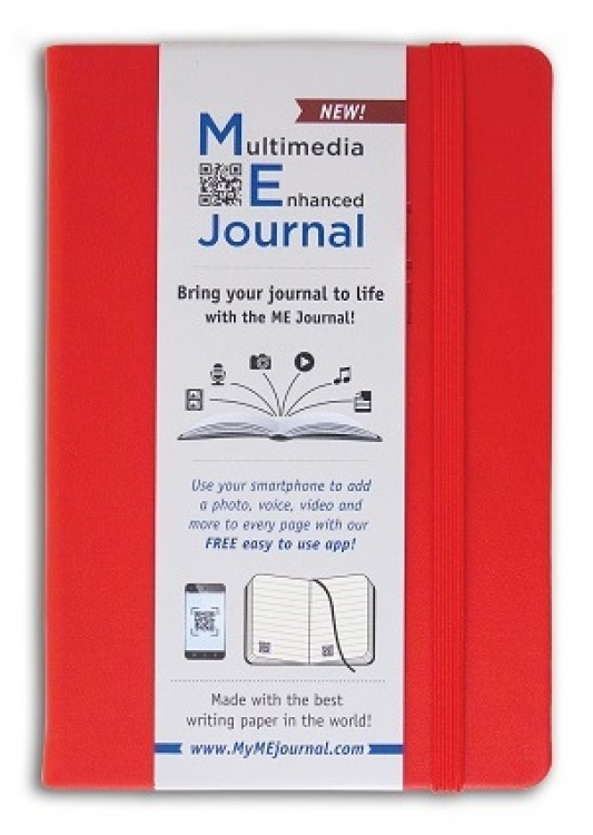 Mini ME Journal Red Pocket