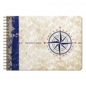 Maritime Travel Album (Logbook) Landscape
