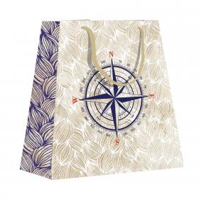 Maritime Small Shopping Bag