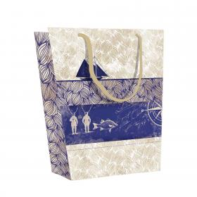 Maritime Medium Shopping Bag