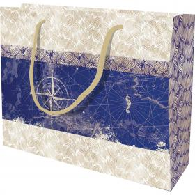 Maritime Large Shopping Bag