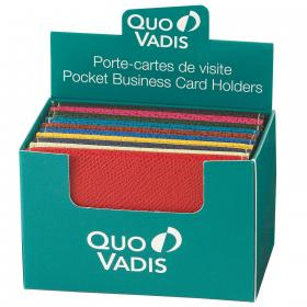 1321 Quo Vadis Business Card Holders - Display