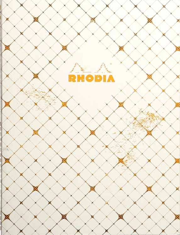Rodia Sewn Spine Notebook - Checkered
