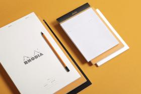 19401 Rhodia Meeting Pad Rhodia Meeting Pad - White cover