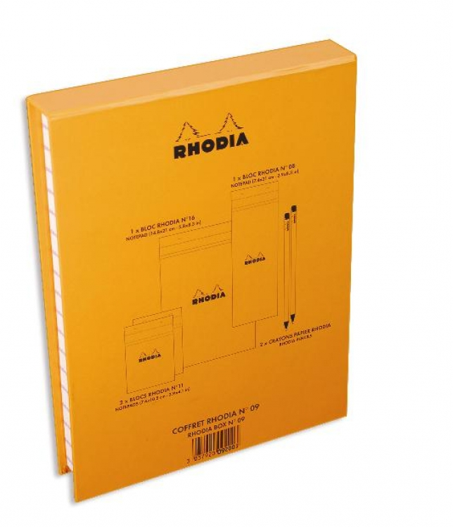 9200 Rhodia Treasure Box - Back/Side