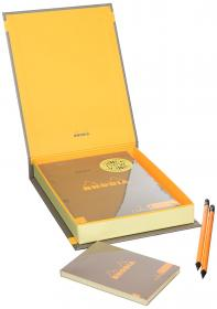 92964 Rhodia ColoR Treasure Box - Taupe