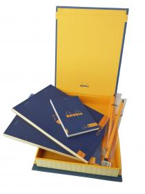 92968 Rhodia ColoR Premium Treasure Box - Sapphire Open